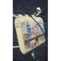 Вело сумка кожаная (рисунок)
