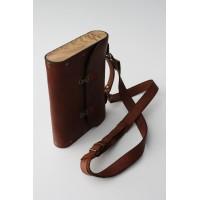 Портфель  кожаный прямоугольный малый